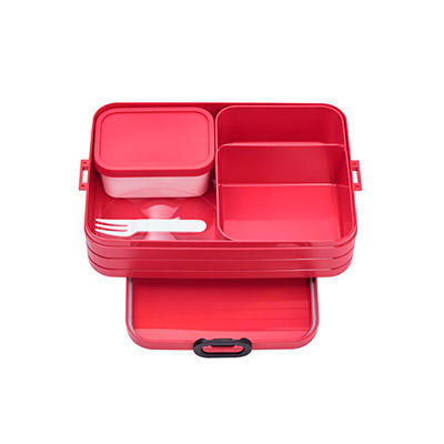 Bento Lunchbox - take a break large - Nordic Red
