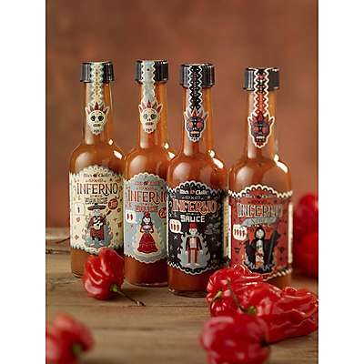 Bundle Mic's Chillisauce, 4 Flaschen