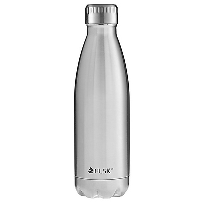 FLSK Thermo- Trinkflasche in steel 0,5 l